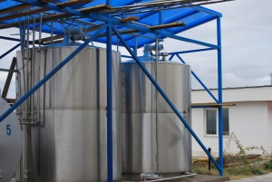 съдове за съхранение на мляко
